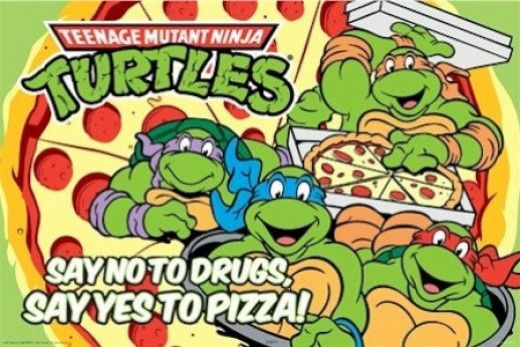 This helped Pizza Hut's stock rise and kept kids off of drugs forever.  That's right...forever.