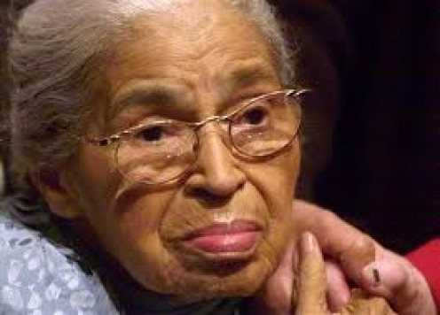 Rosa Parks stood up for what she believed at any cost including going to jail.