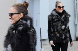 Jennifer Lopez in one 'musician' who sells fur in her own fashion line.