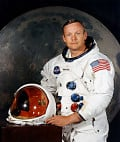 Astronomy; Neil Armstrong - A Tribute to the First Man on the Moon