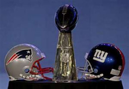 The New York Giants triumphed in the championship game.