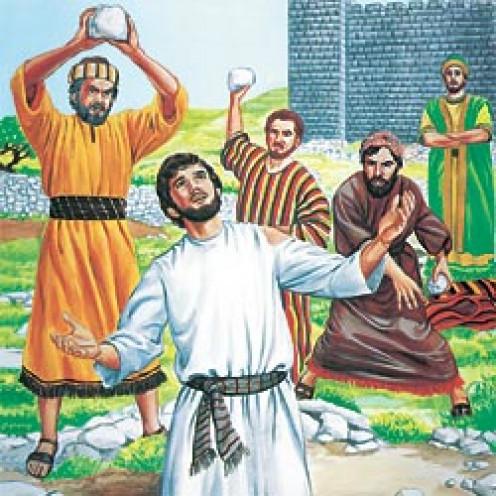 Jesus was stoned for 'blasphemy'....