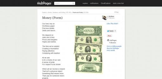 Money (Poem)