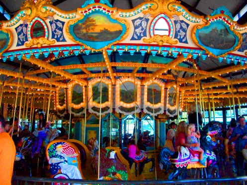 Carousel at Woodland Park Zoo