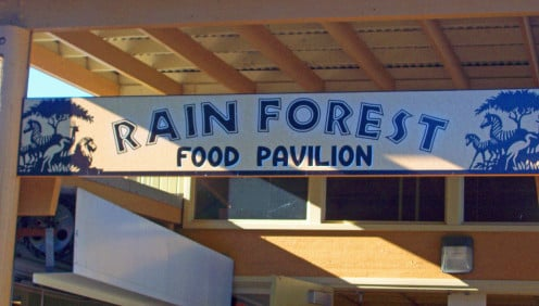 Rain Forest Food Pavilion