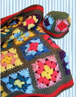 Made with Crochet Granny Squares (Free Patterns)