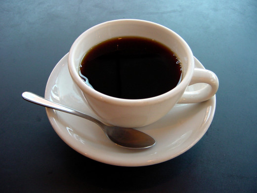 Black coffee is good for a morning shock or afternoon jolt.  It may also represent a rite of passage from childhood to the sometimes bitter realities of adult responsibility.