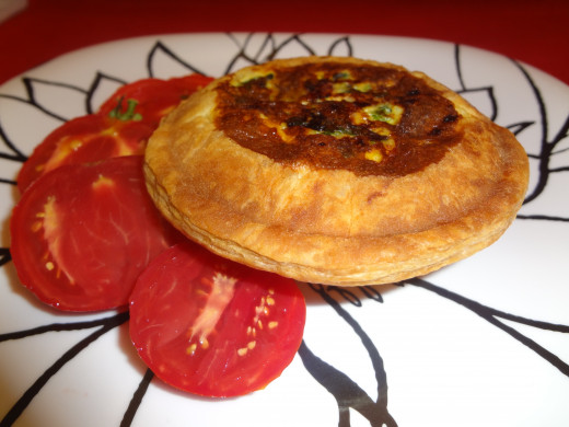 Quiche with Phyllo Dough