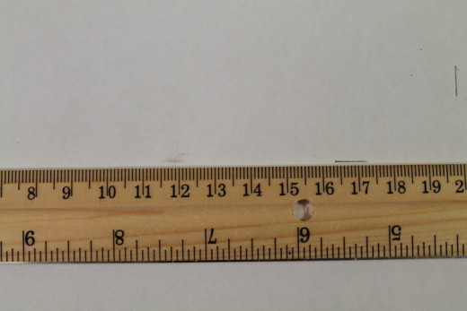 "Measure to create a rectangle 1"" larger than the frame back."