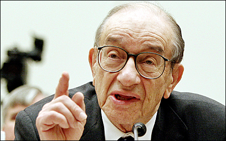 Alan Greenspan credit: Washington Post