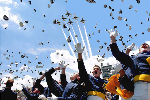 The Air Force Graduates, study and you may feel as epic when you graduate