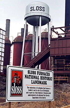 Sloss Furnaces Birmingham Alabama. One of the most haunted places in Alabama.