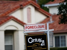 Home foreclosures are up and rising in 2008
