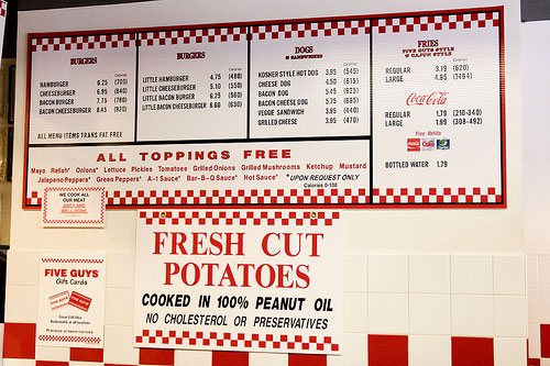 Their menu is pretty simple, but offers anything you could want