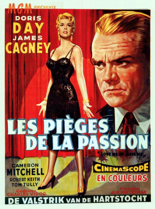 Love Me or Leave Me (1955) Belgian poster