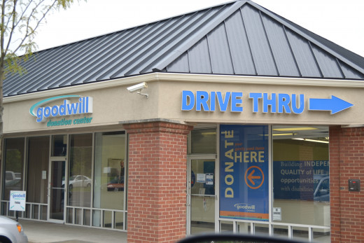 Donating to Goodwill is a simple way to give to charity
