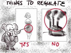 MORE Rules and Regulations on huge corporations?  Or just better ones?
