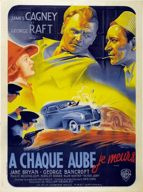 Each Dawn I Die (1939) French poster