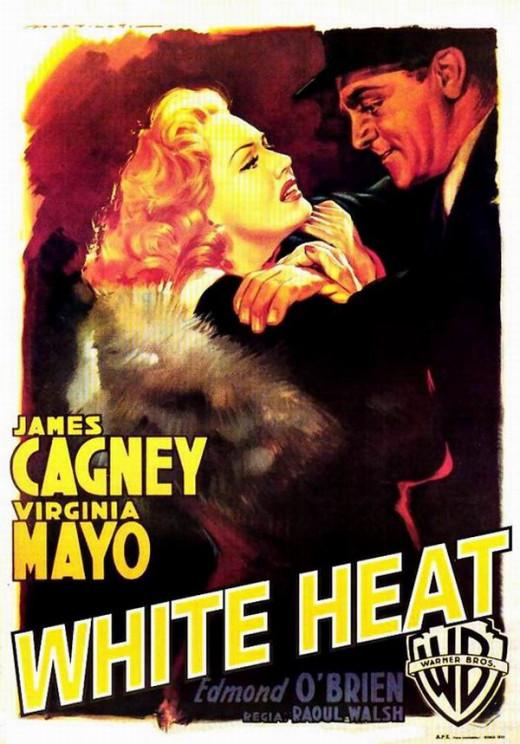 White Heat (1949) Italian poster