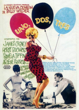 One Two Three (1961) Spanish poster