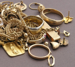 If you have gold jewelry you never wear, consider selling it for its gold value.