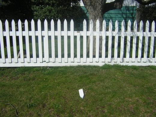 Good fences make good neighbors...and so do good gardens.