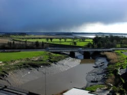 View from Bunratty Castle.