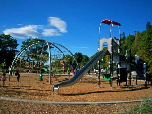Playground at Golden Gardens Park