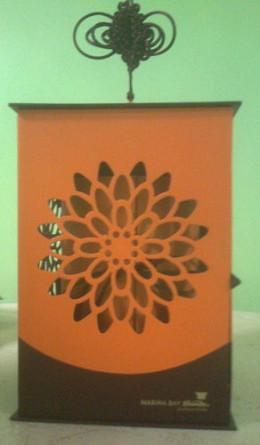 Lantern-shaped mooncake box
