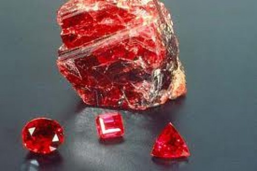 Cutting a big raw stone in small polished pieces can give good returns.
