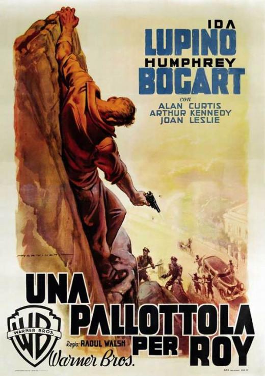 High Sierra (1941) Italian poster