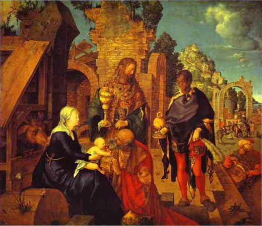 """""""The Adoration of the Magi"""" by Albrecht Durer"""
