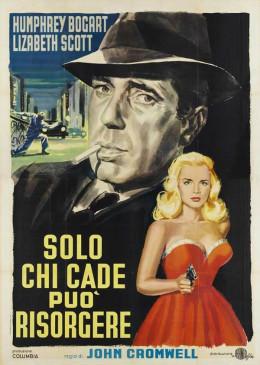 Dead Reckoning (1947) Italian poster
