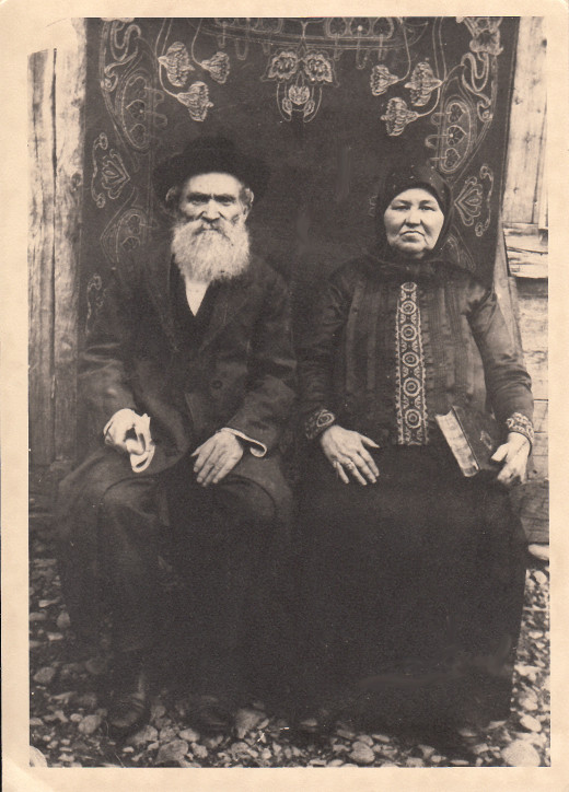This photograph was taken in Chișinău, Moldavia (now Moldova) in the 19th century. I think the people in the photograph are my great-great-grandparents, but I'm unable to verify the information. I don't have any living relatives who can help.