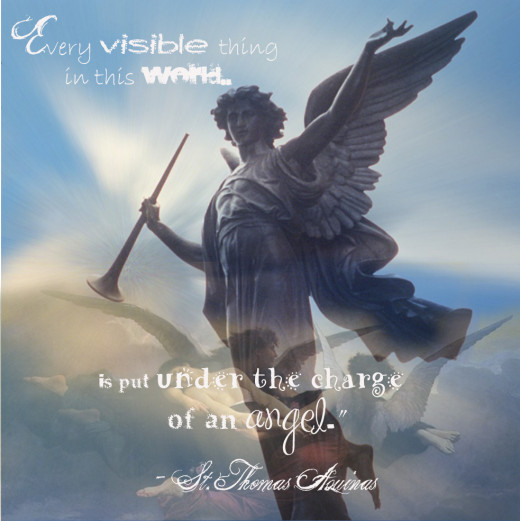Every visible thing in this world is under the charge of an angel... ~St. Thomas Aquinas ♥ ♫♪♪♫•*¨*•.¸¸♥ ♪ ❤(๑˘ᴗ˘๑)❤¸.♥ ♪♫•*¨*•.¸♫♪♪♫