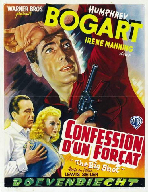 The Big Shot (1942) Belgian poster