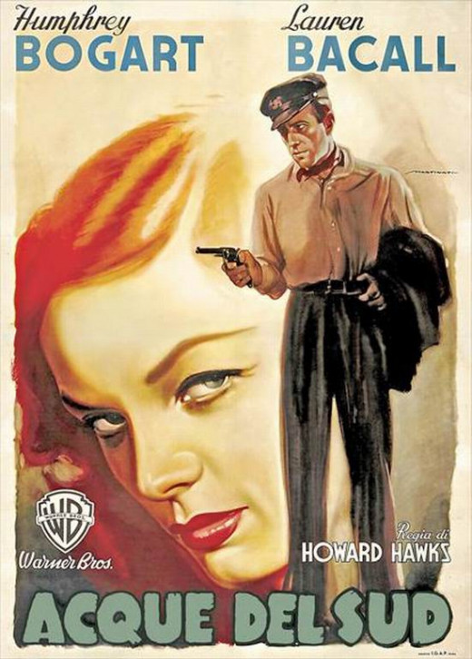 To Have and Have Not (1944) Italian poster