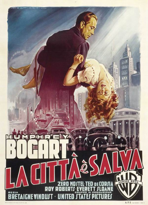 The Enforcer (1951) Italian poster