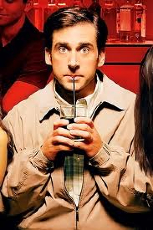 40 Year Old Virgin is hilarious and it stars Steve Carell. Seth Rogan is also in this non stop laugh-a-thon. It's rated R and it's raunchy but off the hook funny.