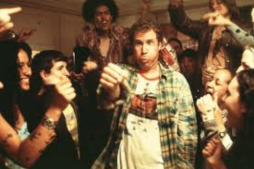 Old School is a comedy featuring Will Ferrell and Luke Wilson. It is rated R and there is also an unrated copy too.