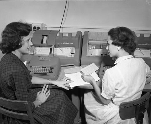 Women meeting at work.
