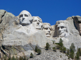 Mount Rushmore - zoomed in