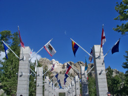 Mount Rushmore's Avenue of Flags