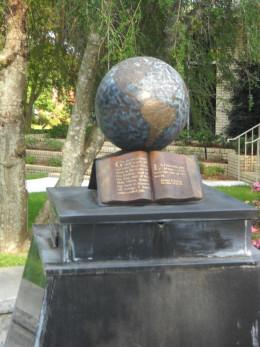 World Globe fountain