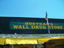 """The actual """"Wall Drug Store"""""""