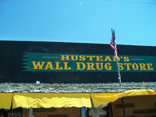 "The actual ""Wall Drug Store"""