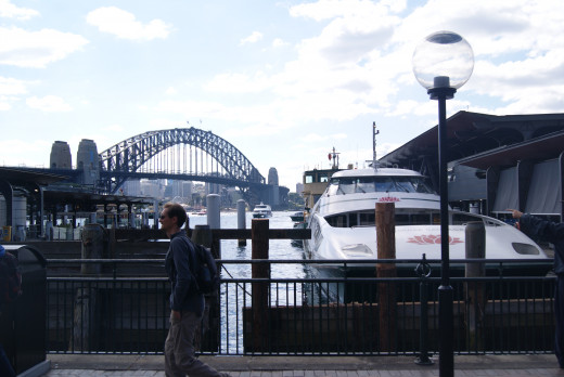 Catch a Sydney Harbour ferry, Paramatta River Cat or Water Taxi from Circular Quay