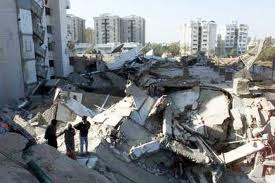 Aftermath of an Earthquake