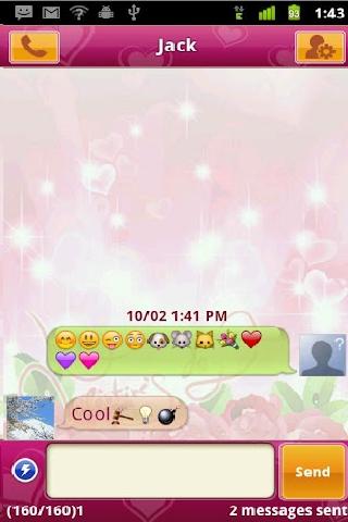 Handcent SMS : Screen Shot