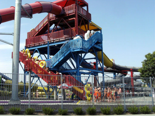 A second water slide complex